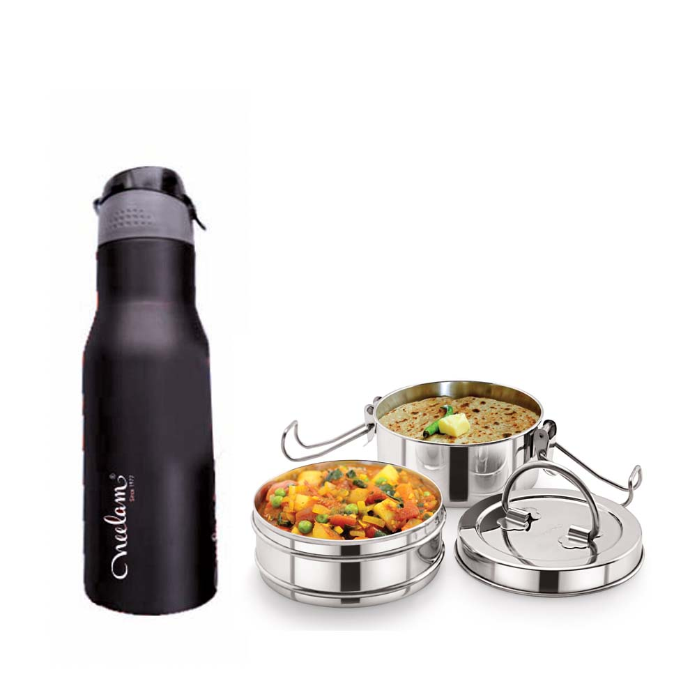 Neelam Combo 22 Tiffin with Bottle