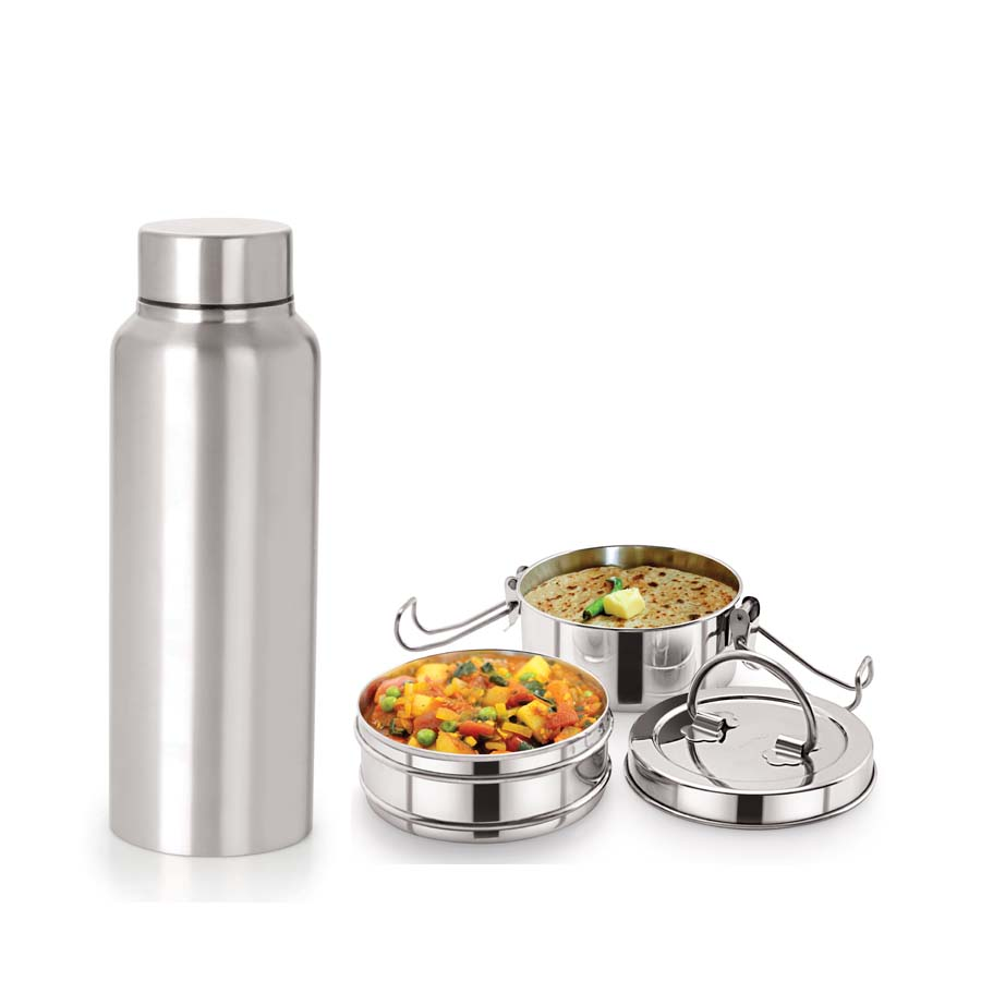 Neelam Combo 28 Tiffin with Bottle