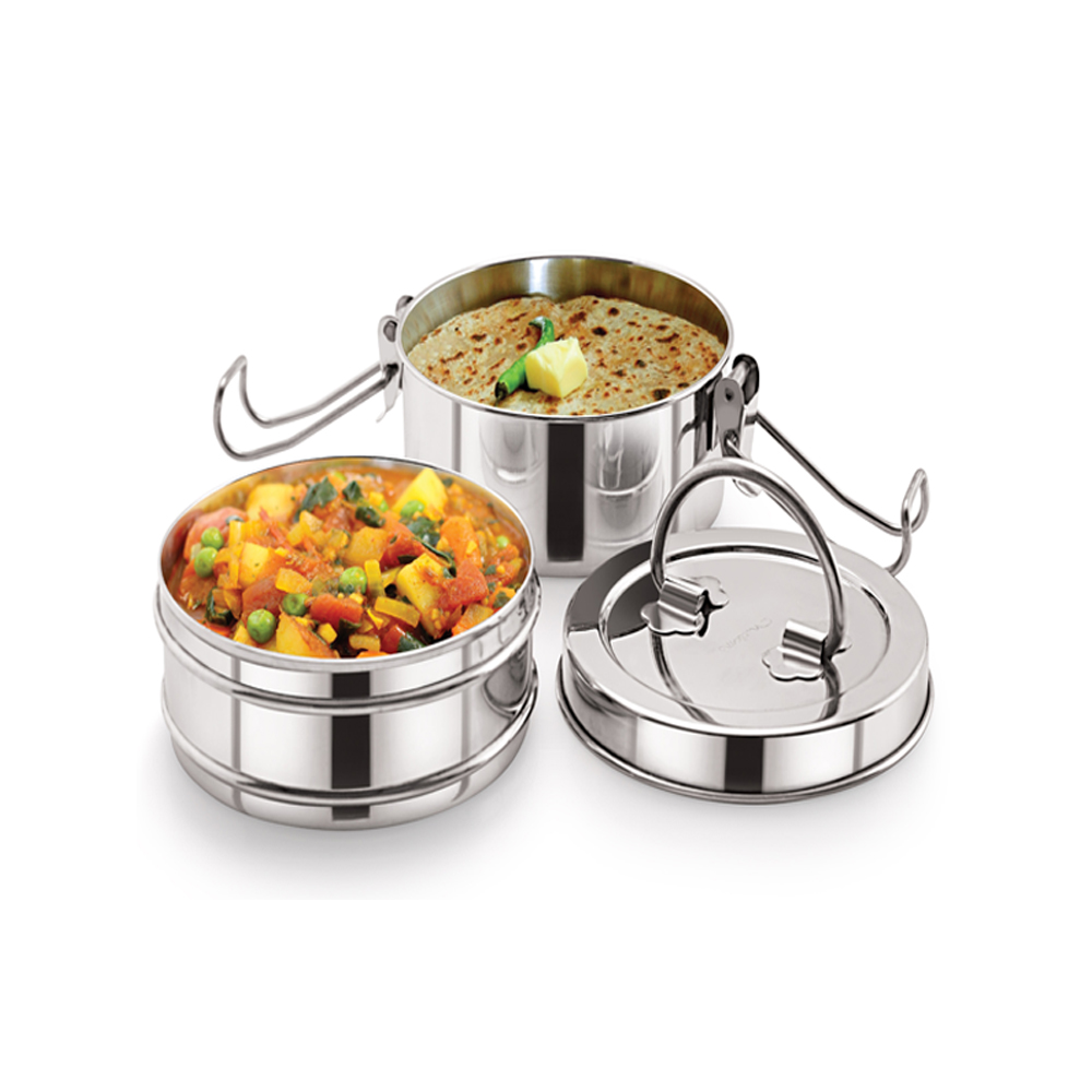 Neelam Combo 4 Tiffin with Bottle