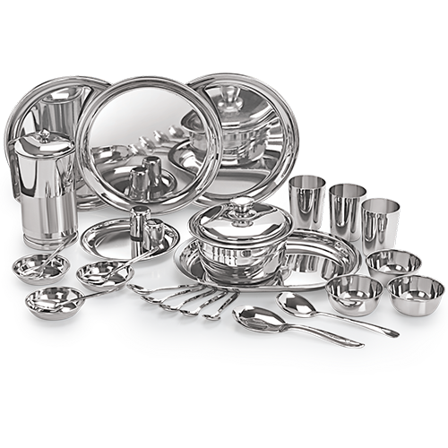 Dinner Set (Premium) 55 Pcs stainless steel