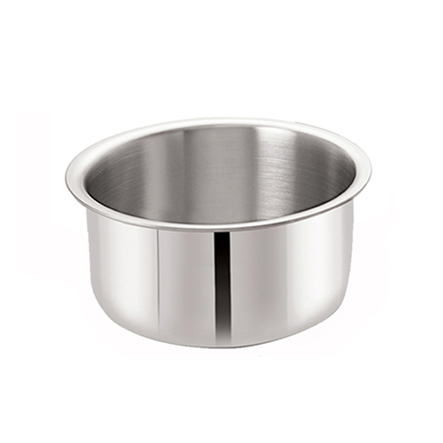 Neelam Tri Ply Stainless Steel Tope 16 cm with Lid